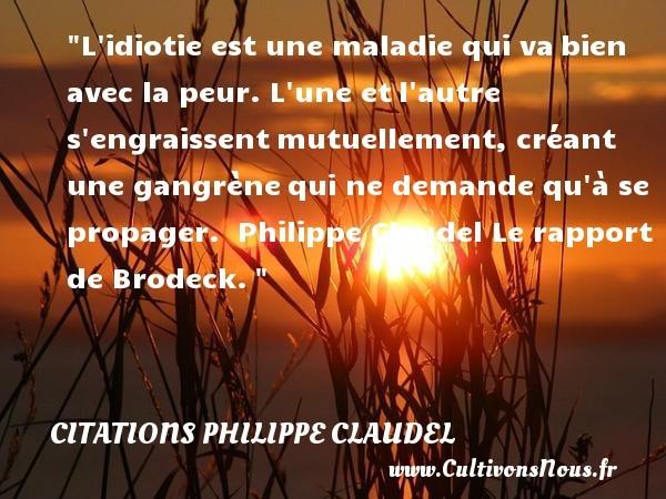 citations philippe claudel