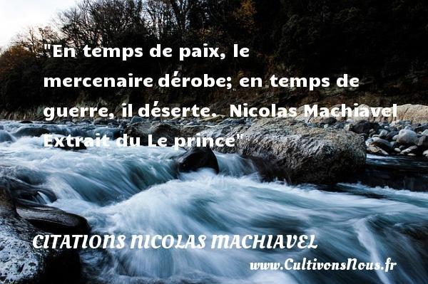 citations nicolas machiavel