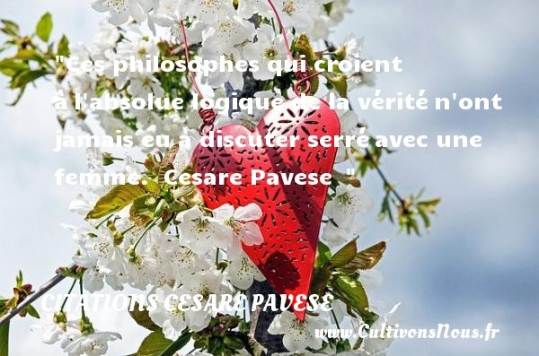 citations cesare pavese