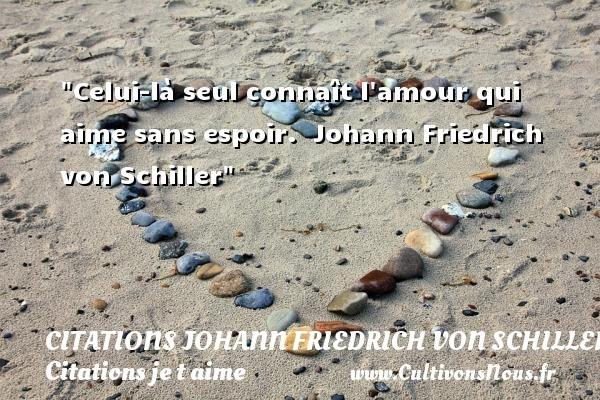 citations johann friedrich von schiller