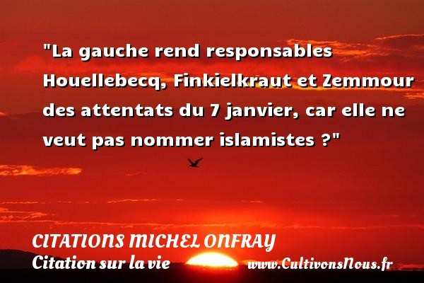 citations michel onfray