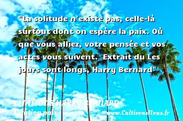 citations harry bernard
