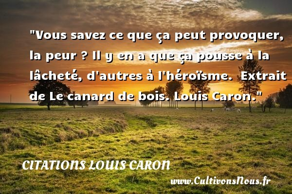 citations louis caron