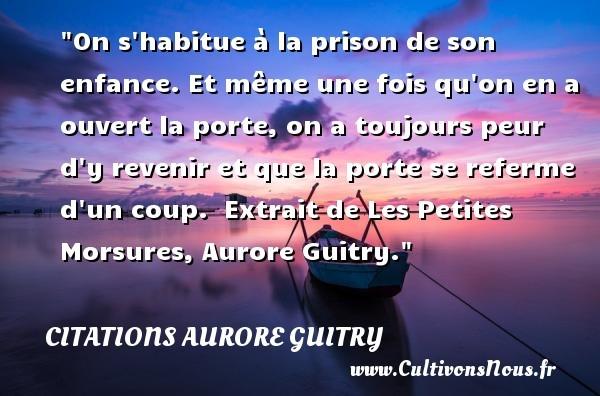 citations aurore guitry