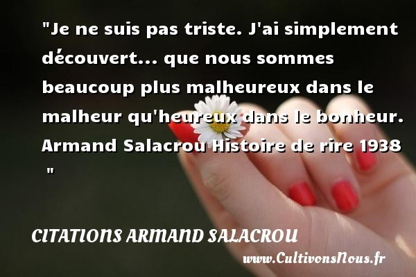 citations armand salacrou