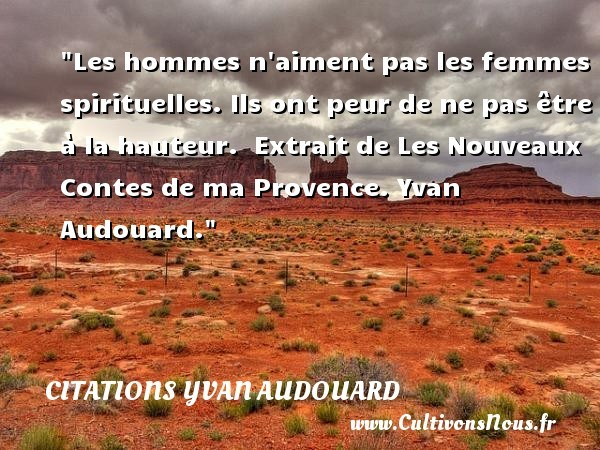 citations yvan audouard