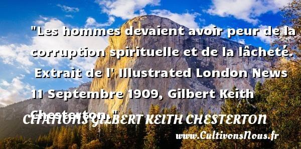 citations gilbert keith chesterton