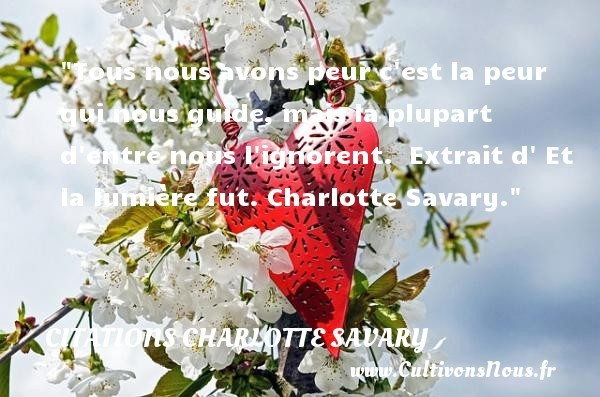 citations charlotte savary