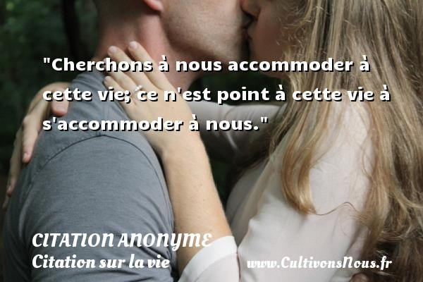 citation anonyme