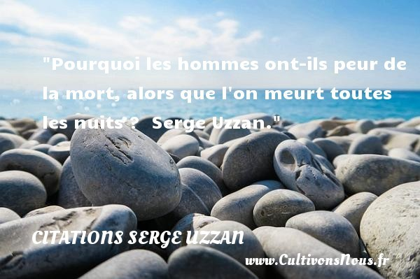 citations serge uzzan