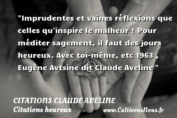 citations claude aveline
