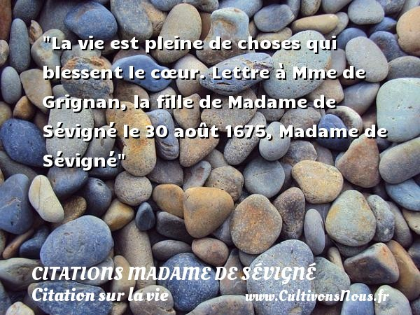 citations madame de sévigné