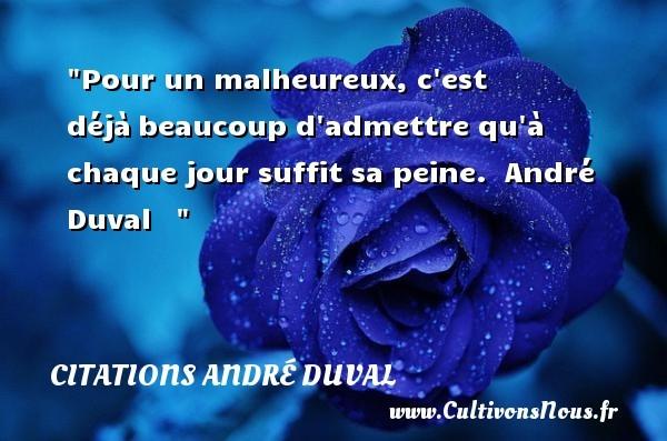 citations andré duval