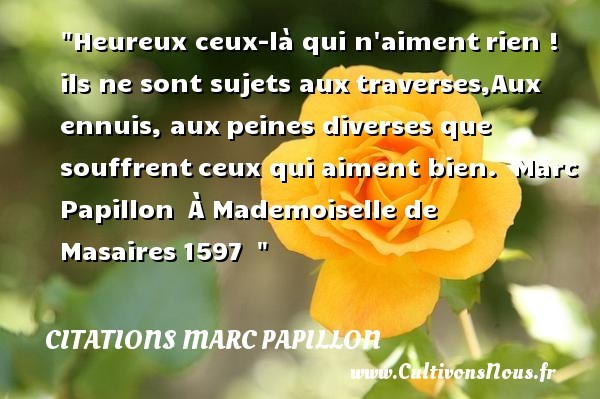 citations marc papillon