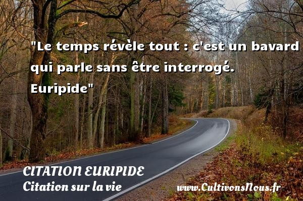 citation euripide