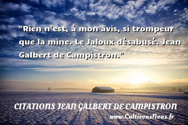 citations jean galbert de campistron