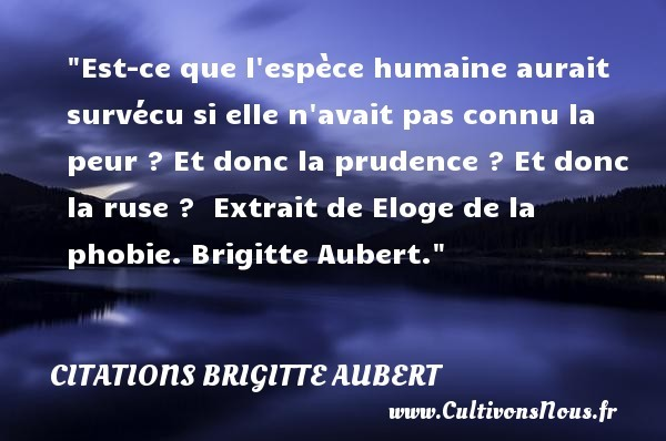 citations brigitte aubert