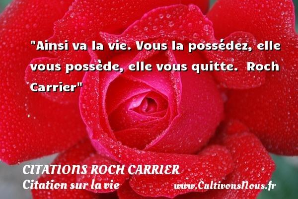 citations roch carrier