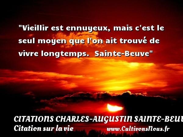 citations charles-augustin sainte-beuve