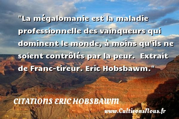 citations eric hobsbawm