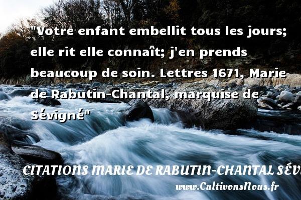 citations marie de rabutin-chantal sévigné