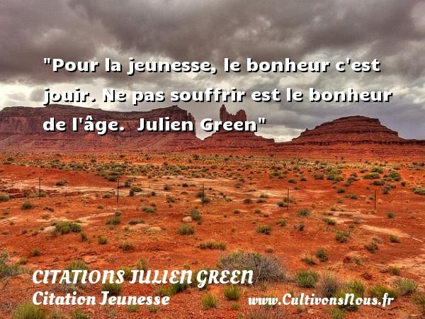 citations julien green
