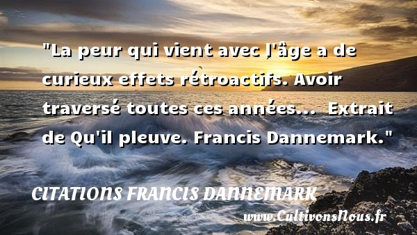 citations francis dannemark