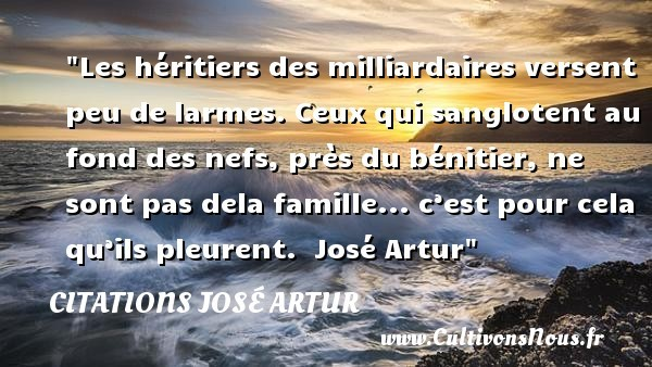 citations josé artur