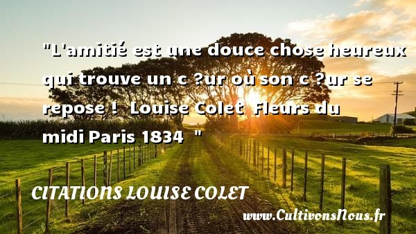 citations louise colet