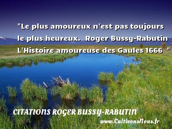 citations roger bussy-rabutin