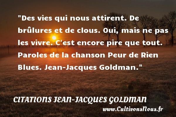 citations jean-jacques goldman