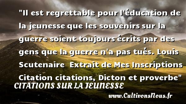 citations louis scutenaire