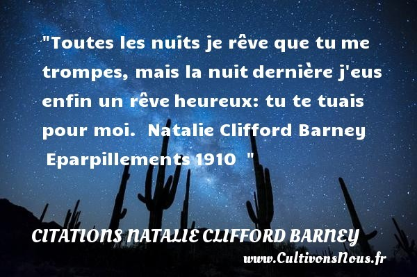 citations natalie clifford barney