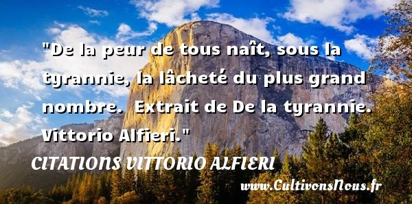 citations vittorio alfieri