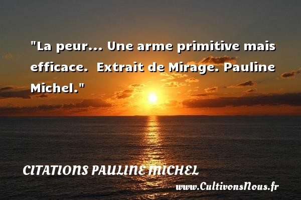 citations pauline michel