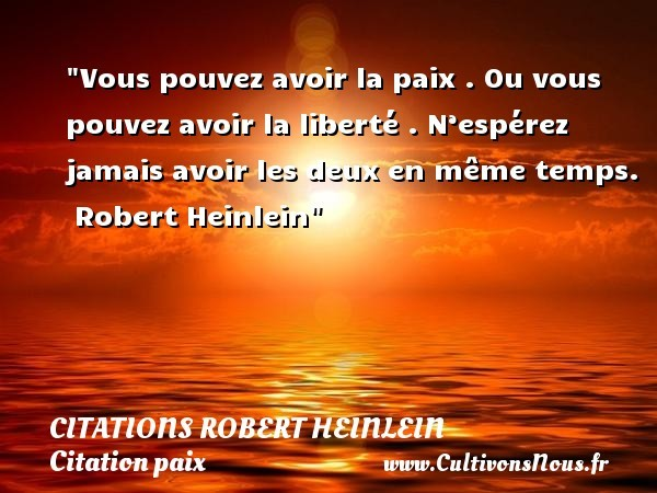 citations robert heinlein