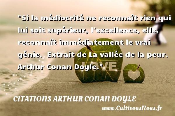 citations arthur conan doyle