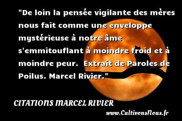 citations marcel rivier
