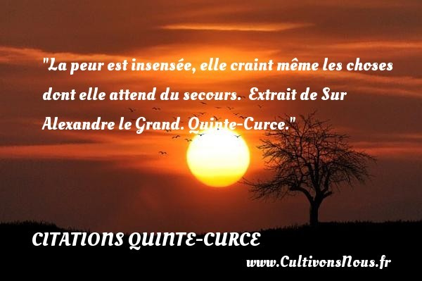 citations quinte-curce