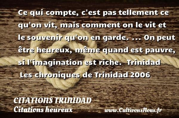 citations trinidad
