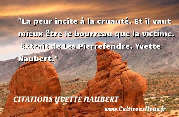 citations yvette naubert