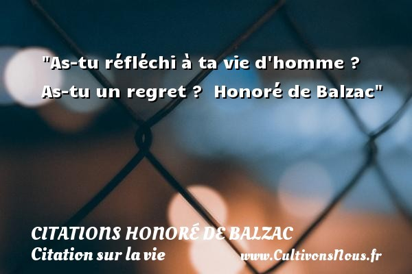 citations honoré de balzac