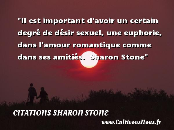 citations sharon stone