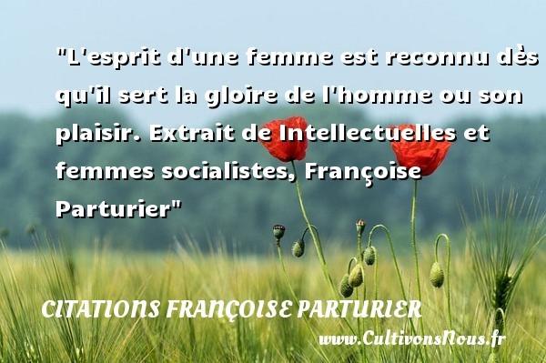 citations françoise parturier