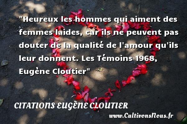 citations eugène cloutier