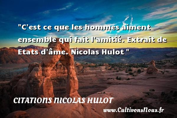 citations nicolas hulot
