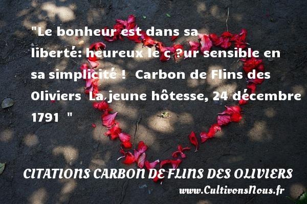 citations carbon de flins des oliviers