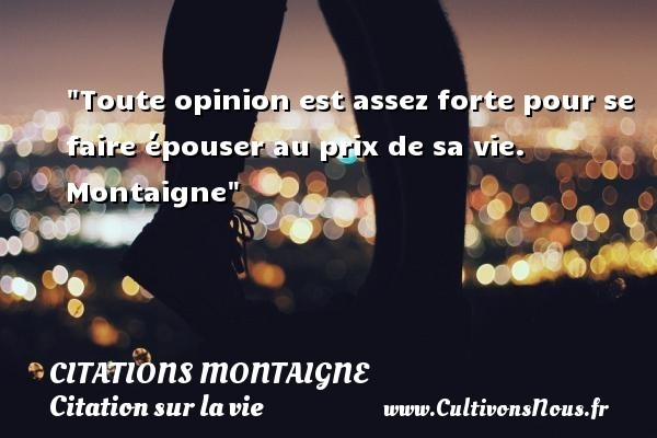 citations montaigne