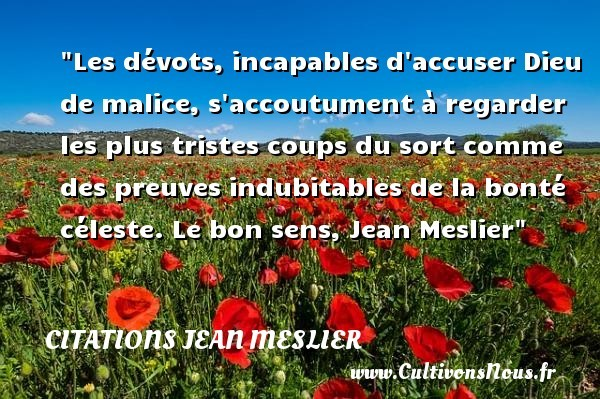 citations jean meslier