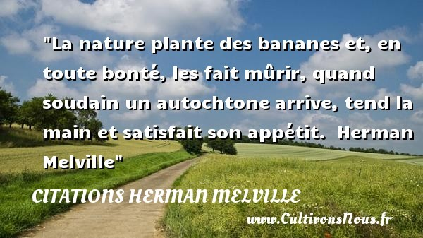 citations herman melville
